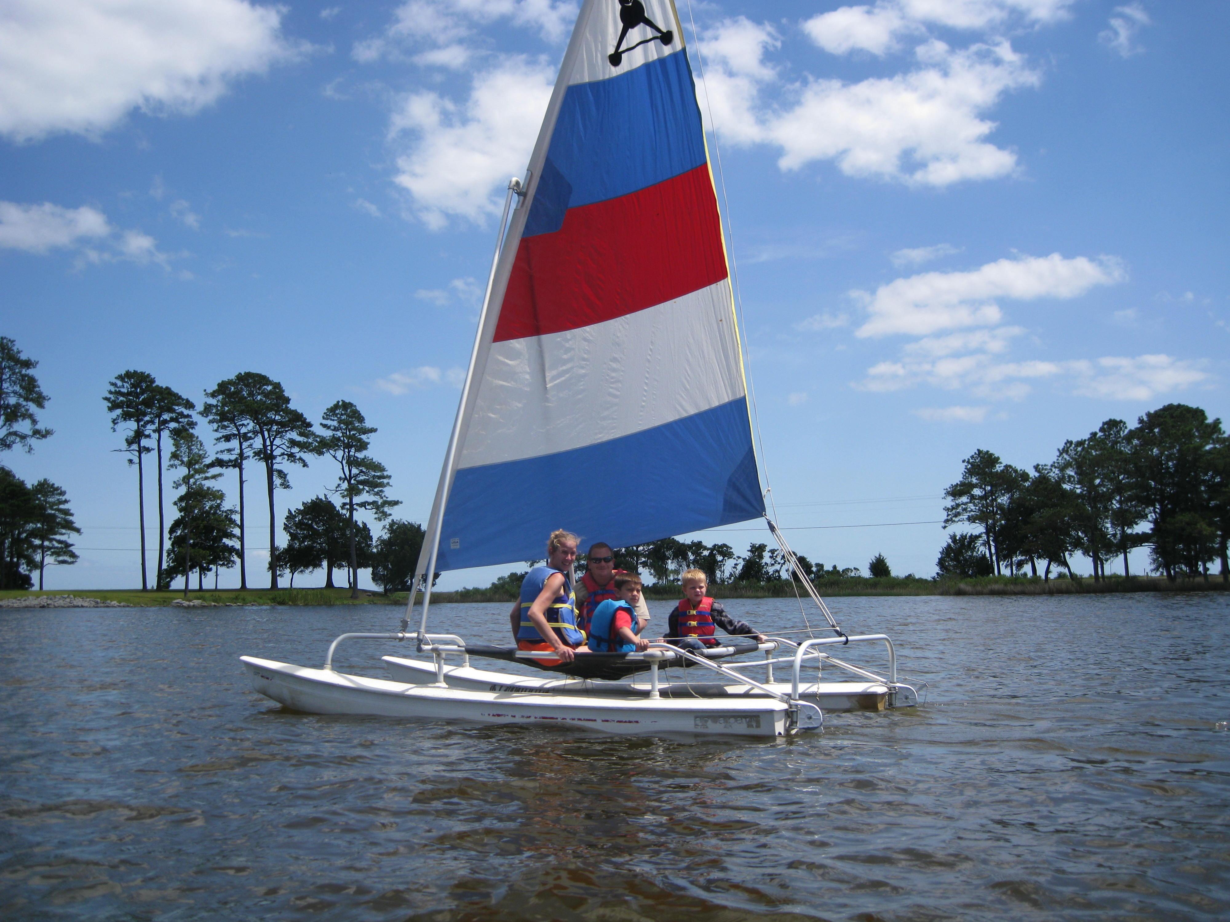 Sailing @ Camp Caroline
