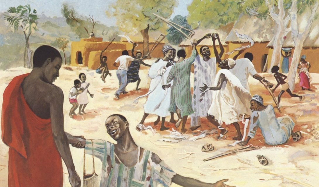 The Healing of the Ten Lepers - Luke 17:11-19