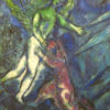 Chagall Jacob Wrestles Nice