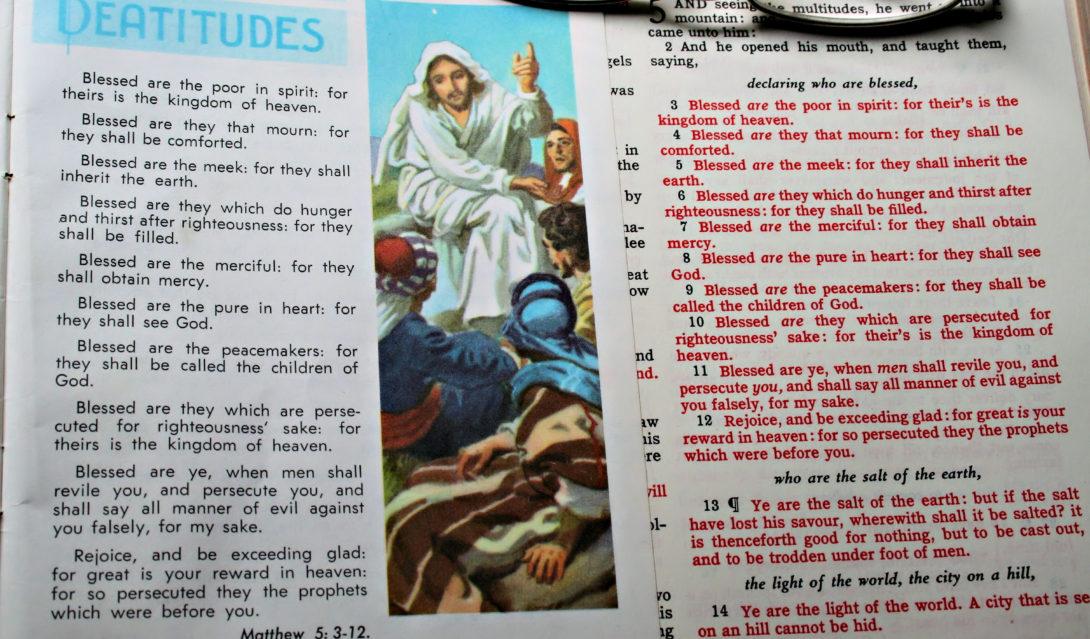 Beatitudes - Matthew 5:1-12