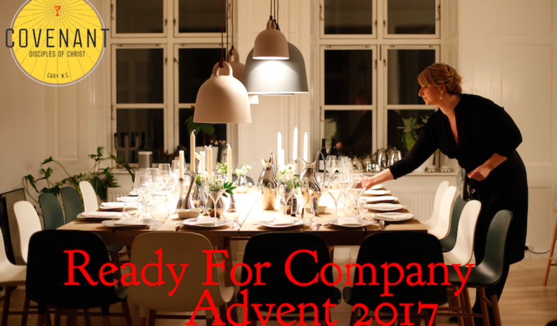 Ready For Company - Advent 2017